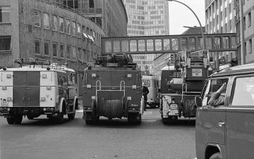 RAF-Bombenanschlag auf Axel-Springer-Hochhaus Hamburg 1972 © Ho