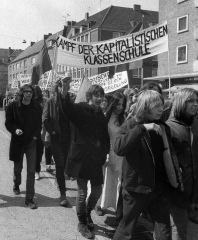 Demonstration am 1. Mai 1970 in Kiel © Holger Rüdel