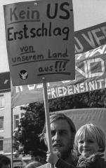 Demonstration der Friedensbewegung Kiel 1980 © Holger Rüdel