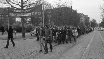 Demonstration der Sozialistischen Studentengruppe Hamburg 1973