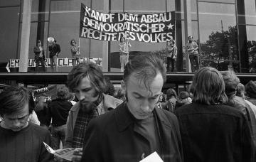 Kundgebung der Sozialistischen Studentengruppe (SSG) Hamburg 197
