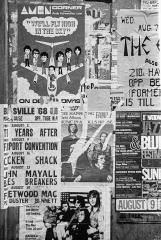 Rockmusik-Konzertplakate London 1968 © Holger Rüdel
