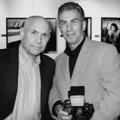 Steve McCurry and Holger Rüdel © Christian Lindenau