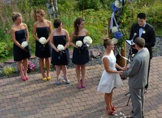 Hochzeit am Ufer des Lake Superior © Holger Rüdel