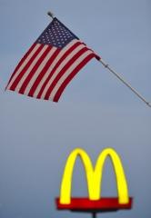 Stars and Stripes und McDonald's © Holger Rüdel