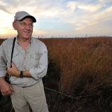 Jim Brandenburg in der Touch the Sky Prairie bei Luverne (Minnesota/USA) © Holger Rüdel