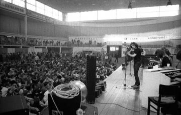 Deep Purple live 1970 in Kiel Vorgruppe © Holger Rüdel