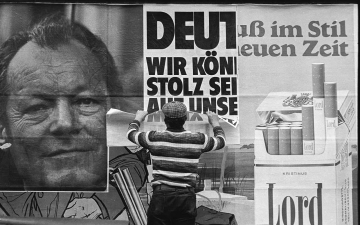 Willy-Brandt-Wahlplakat 1972 © Holger Rüdel