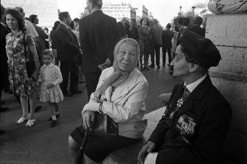 Veteranentreffen am Arc de Triomphe Paris 1971 © Holger Rüdel