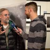 Ragnar Axelsson (RAX) im Interview mit dem NDR © Holger Rüdel