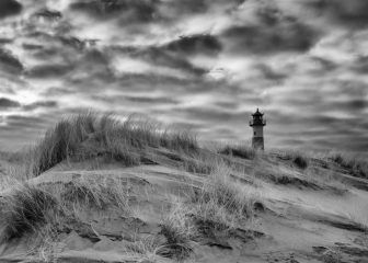 Dünenlandschaft Ellenbogen auf Sylt © Holger Rüdel