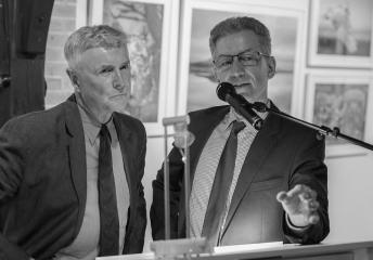 Art Wolfe und Holger Rüdel © Tim Riediger