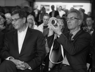 David Doubilet und Holger Rüdel © Tim Riediger