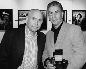 Steve McCurry und Holger Rüdel © Christian Lindenau