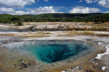 Yellowstone National Park Silent Pool © Holger Rüdel
