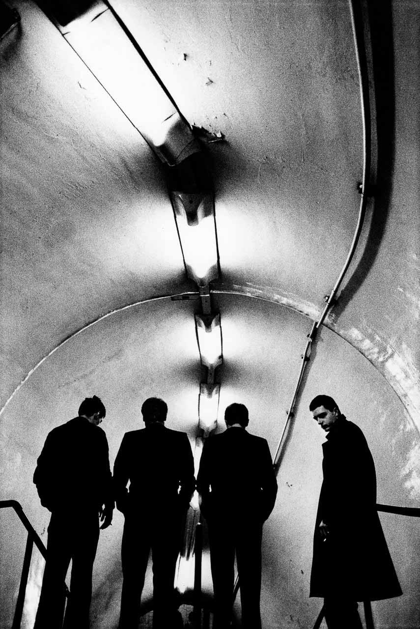 Anton Corbijn (geb. 1955): Joy Division, London 1979, Leihgabe des Künstlers, © Anton Corbijn, 2018
