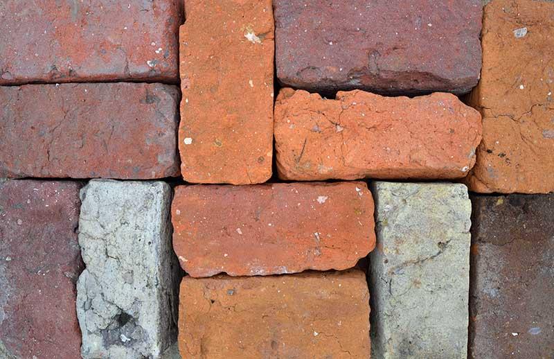 Mittelalterliche Ziegelsteine am Tor des Danewerks © Holger Rüdel www.holger-ruedel.de