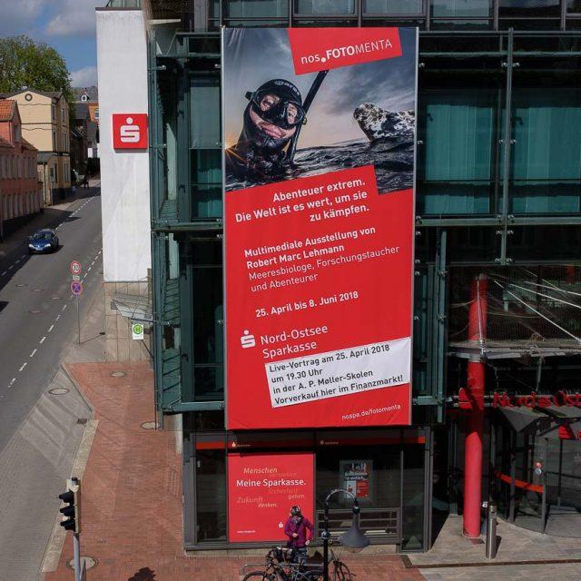 """Ausstellung """"Abenteuer extrem"""" in Schleswig vor der Eröffnung"""
