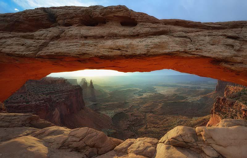 Canyonlands National Park Mesa Arch © Holger Rüdel www.holger-ruedel.de
