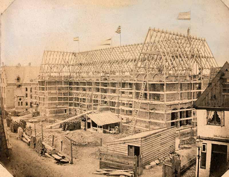 Domschule Schleswig 1868 © Stadtmuseum Schleswig