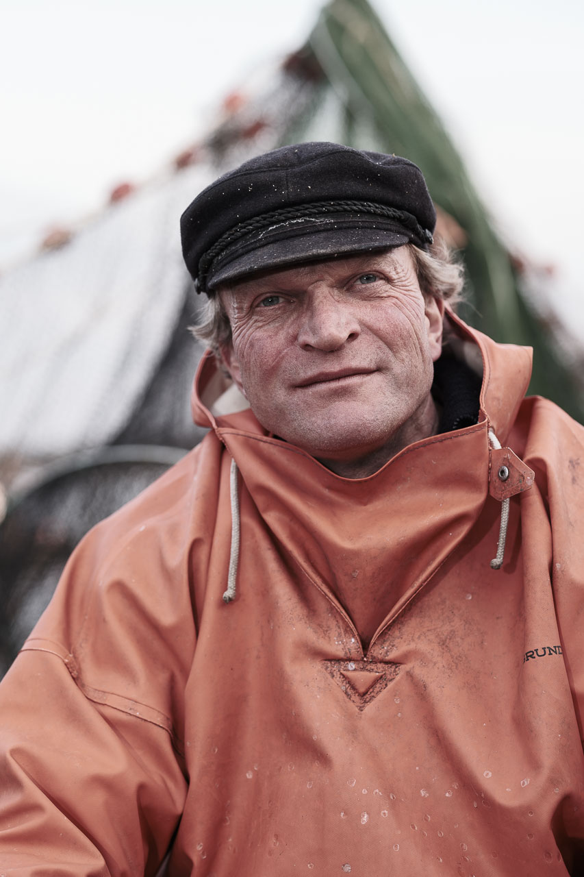 Fischer Jörg Nadler vom Holm in Schleswig an der Schlei.