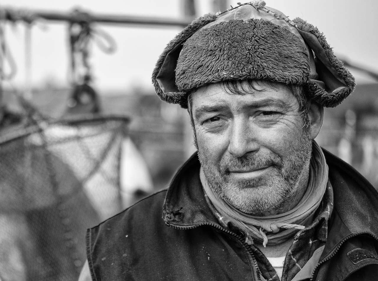 Jörn Ross ist der Ältermann der Holmer Fischerzunft in der Stadt Schleswig.