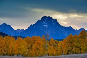 Mount Moran im Grand Teton Nationalpark © Holger Rüdel www.holger-ruedel.de