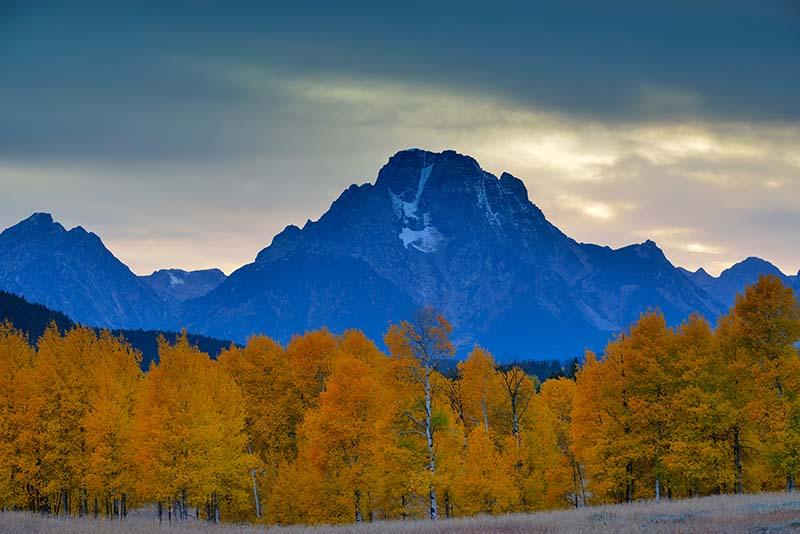 Mount Moran im Grand Teton Nationalpark