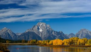 Mount Moran im Grand Teton Nationalpark © Holger Rüdel