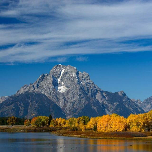 Herbst im Grand Teton Nationalpark