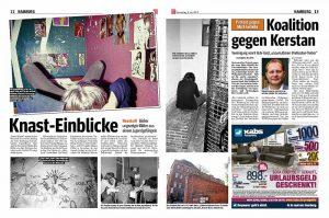 """Artikel """"Knast-Einblicke"""" in der Hamburger Morgenpost vom 8. Juni 2017"""