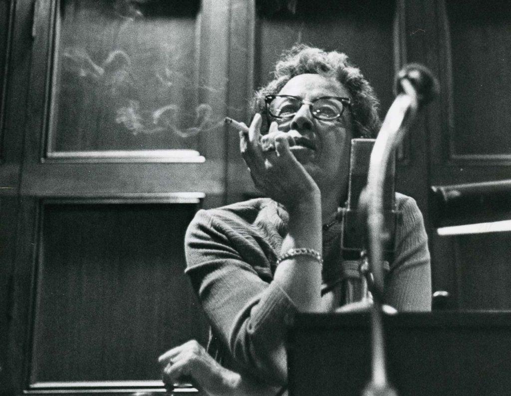 Hannah Arendt an der University of Chicago 1966