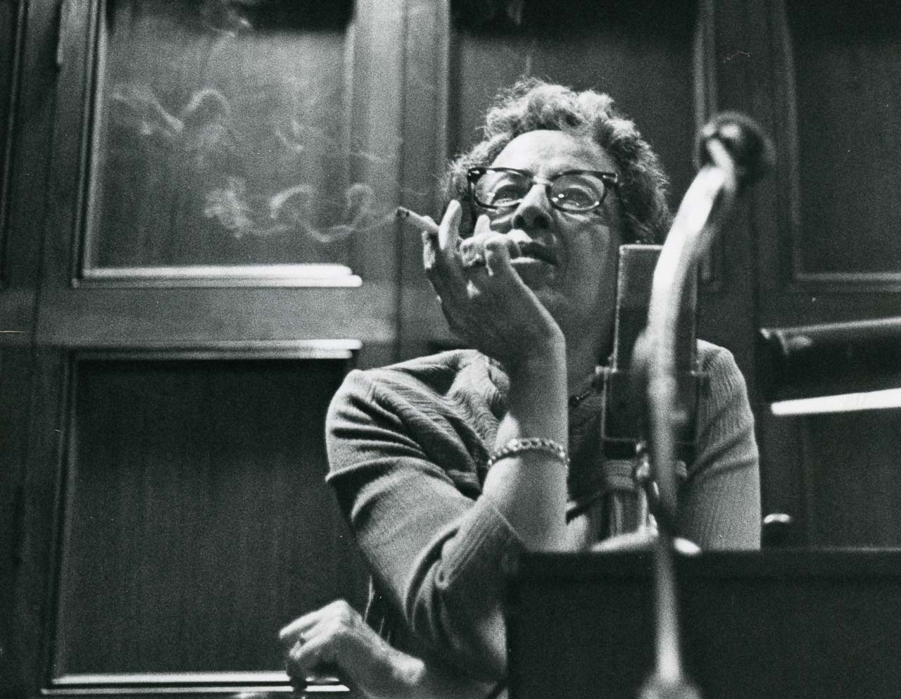 Hannah Arendt an der University of Chicago 1966