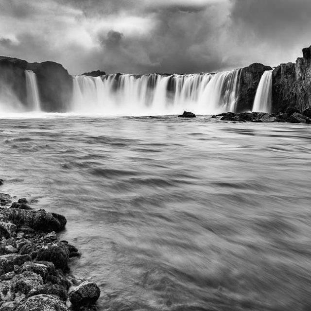 Der Goðafoss ist einer der bekanntesten Wasserfälle Islands.