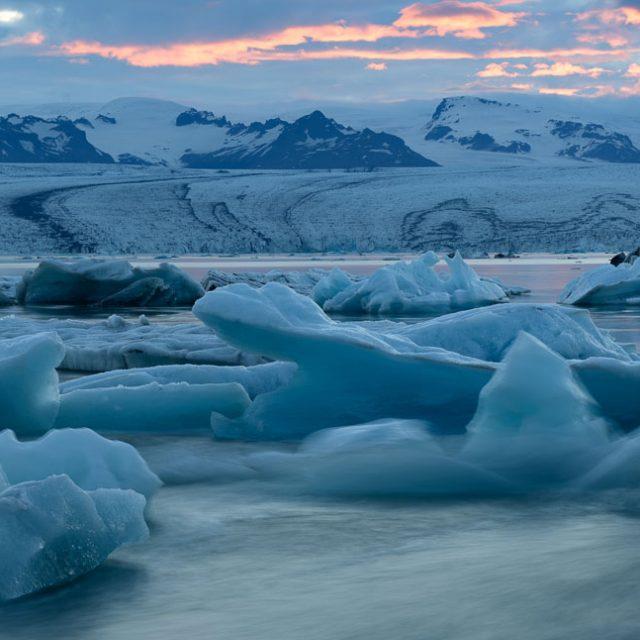 Island. Jökulsárlón