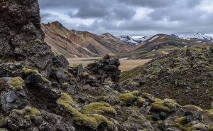 Landmannalaugar ist ein Gebiet nahe beim Vulkan Hekla im Südwesten von Island. Die unter Naturschutz stehende Gegend gilt als eine der schönsten der Insel, was sie den zahlreichen vulkanischen Erscheinungen und den farbenprächtigen Bergen zu verdanken hat. Landmannalaugar ist nur mit Gelände-Fahrzeugen erreichbar und dadurch weniger von Touristen überlaufen als viele andere Sehenswürdigkeiten Islands.
