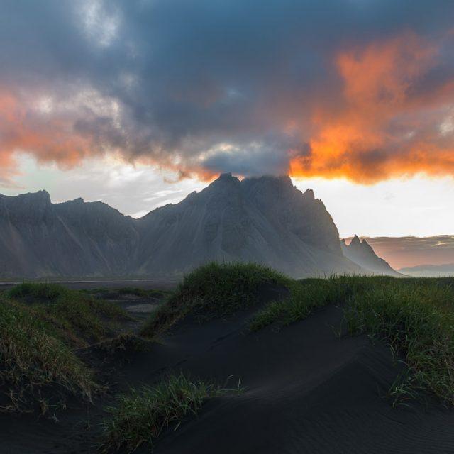 Island. Vestrahorn und Stokksnes