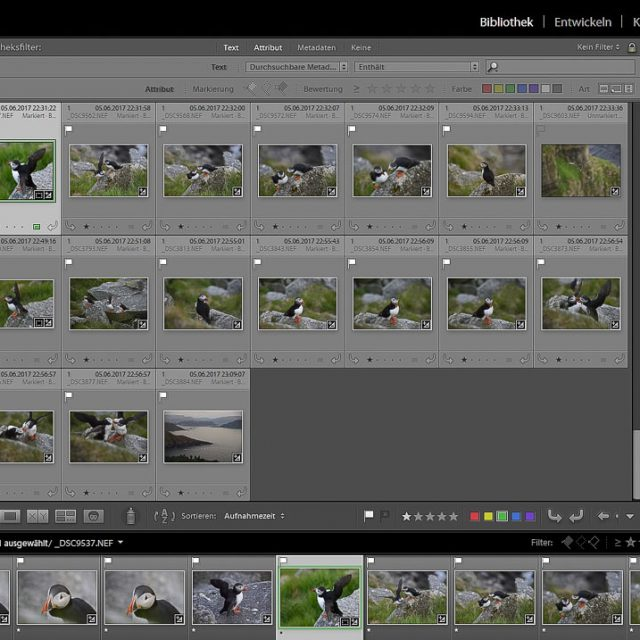 Screenshot Lightroom Stapelumbennenung © Holger Rüdel
