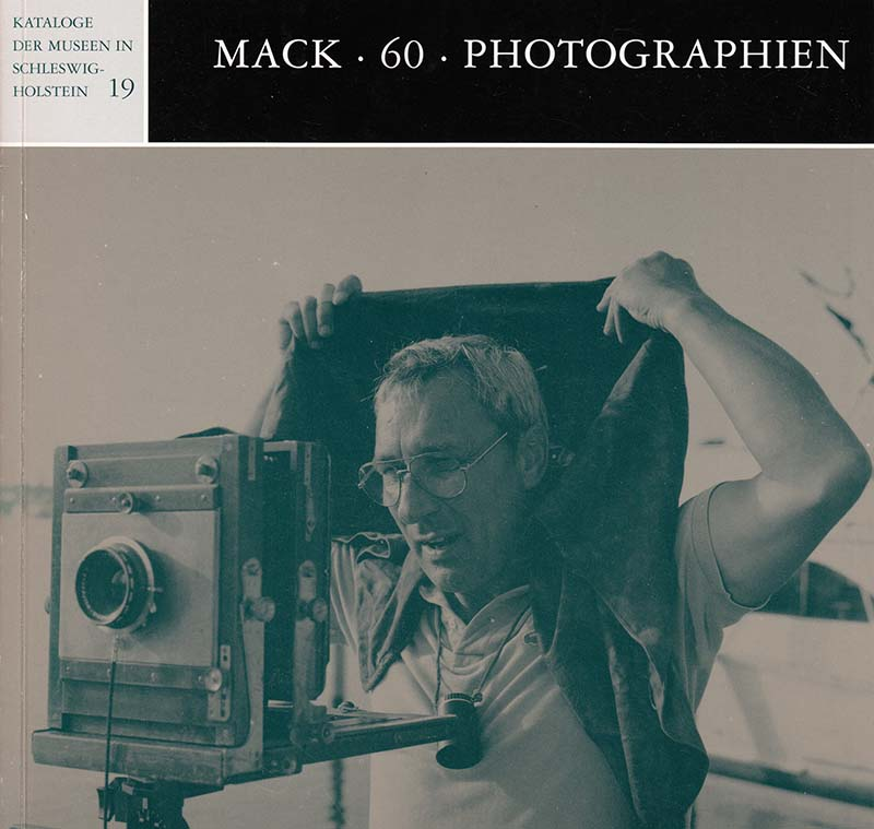 "Cover ""Mack 60 Photographien"""