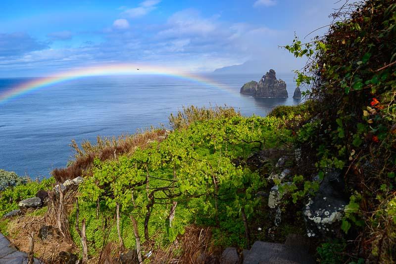 Die wilde Küste von Madeira im Norden © Holger Rüdel