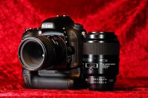 Nikon D600 mit AF Micro Nikkor 60 mm 1:2,8D und 105 mm 1:2,8D © Holger Rüdel