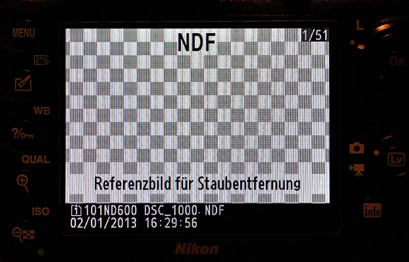 Nikon D600 Referenzbild Staubentfernung © Holger Rüdel