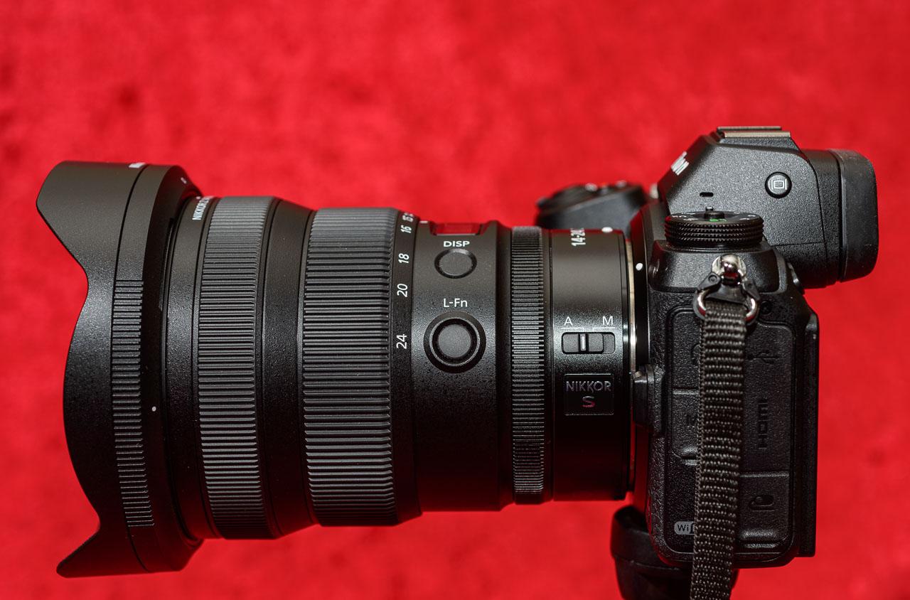 Das Nikkor Z 14-24mm f/2,8 S ist das zweite Ultra-Weitwinkelobjektiv im Sortiment des spiegellosen Z-Systems von Nikon.