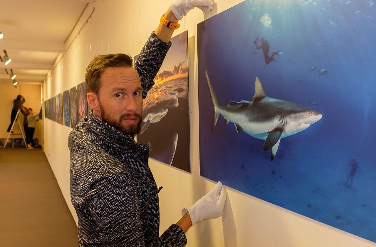 """Ausstellung """"Abenteuer extrem"""" mit Robert Marc Lehmann in Schleswig"""