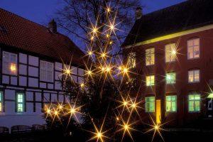 tadtmuseum Schleswig mit Weihnachtsbaum © Holger Rüdel www.holger-ruedel.de