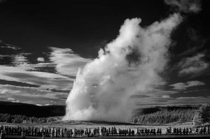 Yellowstone National Park Old Faithful Infrared © Holger Rüdel